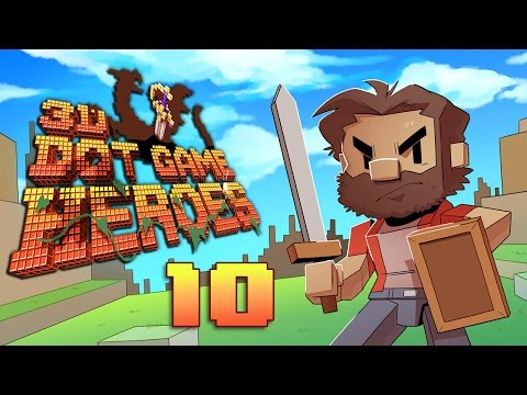 3D Dot Game Heroes | Let's Play Ep. 10: We Got Two Swords??? | Super Beard Bros.