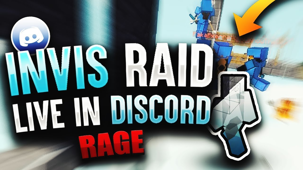 I INVIS RAIDED THEM WHILE IN DISCORD WITH THEM - LIVE REACTION *RAGE*    Minecraft HCF