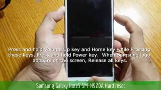 Full Language Firmware Samsung Galaxy Note 5 At&t N920a