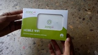 Zong 4G Mobile WI FI 2017 Price 18000