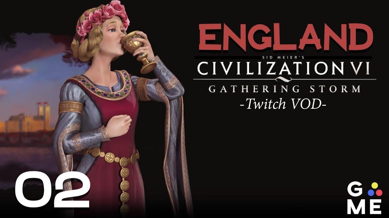 Deity Eleanor | Civilization 6 Gathering Storm - Twitch VOD | Episode 2