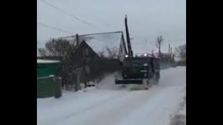 Жители города оценили работу коммунальных служб по расчистке от снега