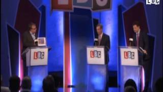 Nigel Farage in Defence of the Realm vs EU Puppet
