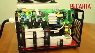 Сварочный инвертор РЕСАНТА САИ 190(Видеоролик демонстрирующий сварочный инвертор РЕСАНТА САИ 190. Для получения более подробной информации..., 2013-05-31T06:11:11.000Z)