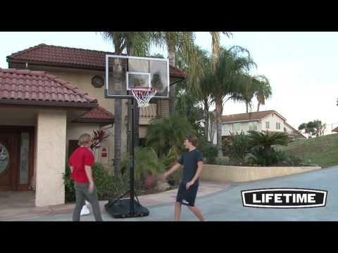 "Lifetime 52"" Portable Basketball Hoop (90228)"