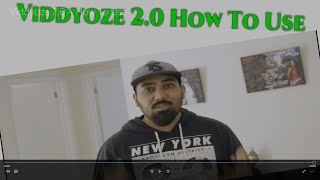 Viddyoze 2.0 How to Use Video #2 🎬
