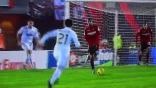 Jose Callejon Goal, RCD Mallorca vs Real Madrid, La Liga 14.01.12