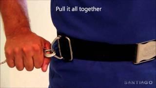 "Adjustable D-Ring for Sidemount Diving: The ""LB-Sliding Ring"""