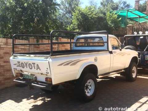 1979 toyota hilux auto for sale on auto trader south africa youtube. Black Bedroom Furniture Sets. Home Design Ideas