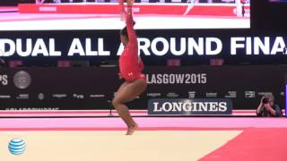 Simone Biles - Floor Exercise - 2015 World Championships - All-Around Final