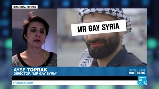 'Mr Gay Syria'  changing perceptions of a suppressed community