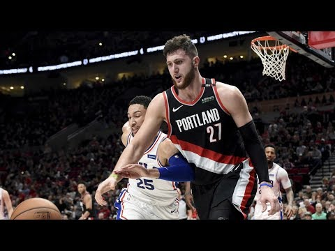 CJ McCollum 35 Points! Blazers Blowout 76ers! 2018-19 NBA Season