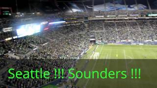 "Seattle Sounders 2012, Fans Singing Loud ""Seattle Sounders"""