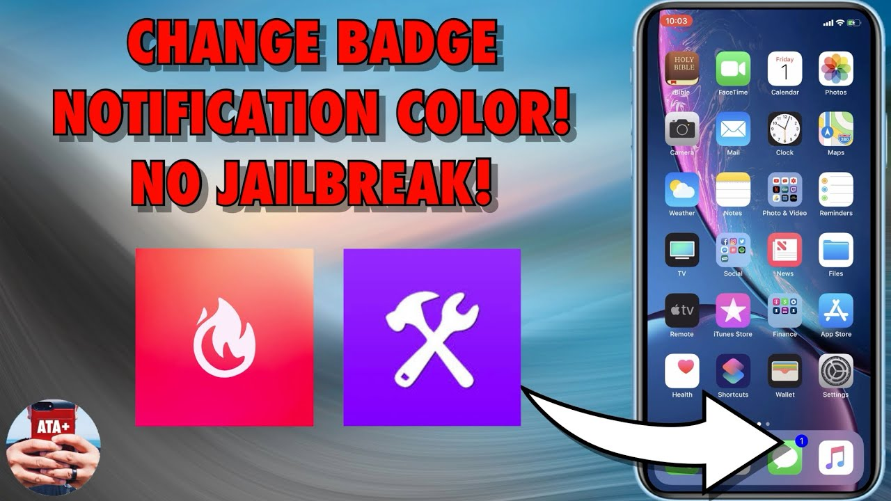 CHANGE BADGE NOTIFICATION COLOR WITH TORNGAT AND IGNITION ON IOS 12