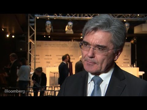 Siemens CEO Kaeser Feels 'Pretty Good' About His Company