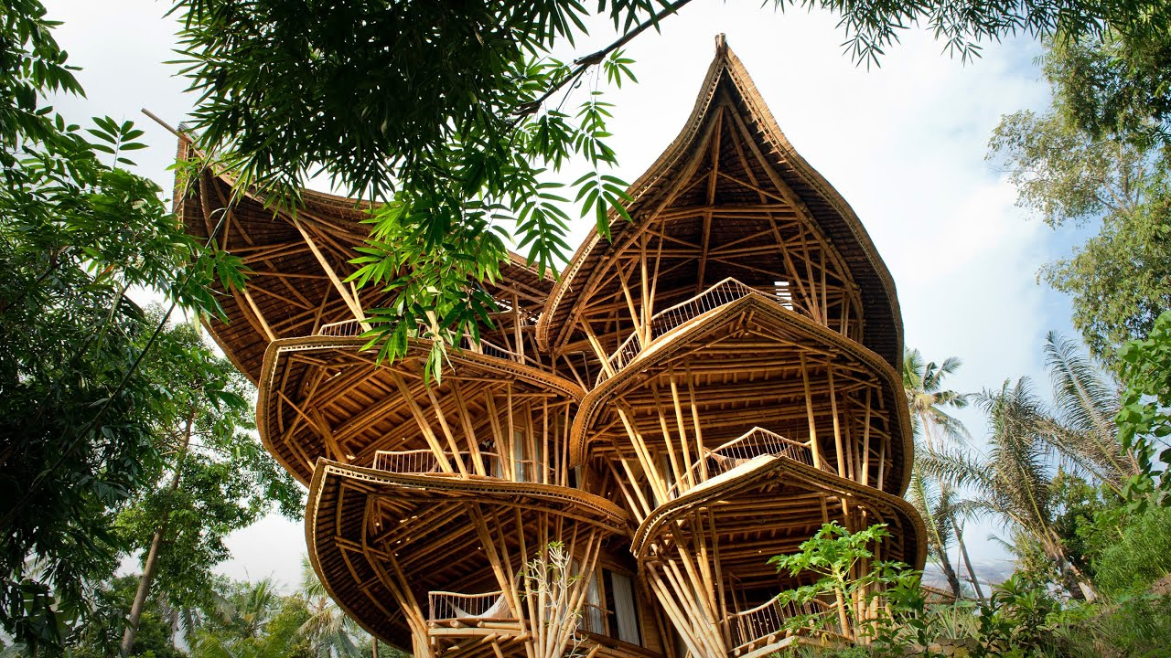 magical houses, made of bamboo | elora hardy - youtube