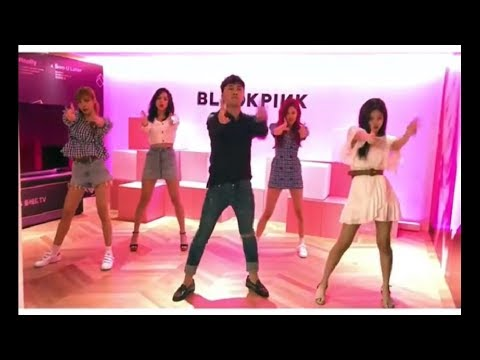 BLACKPINK X BIGBANG Seungri Dancing To Blackpink song DDU-DU DDU-DU