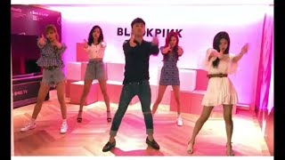 BLACKPINK X BIGBANG Seungri Dancing To Blackpink song DDU-DU DDU-DU