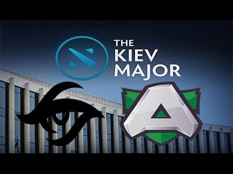 Secret vs Alliance Game 1 Live - EU Grand Finals Main Qualifiers bo3 - Kiev Major 2017