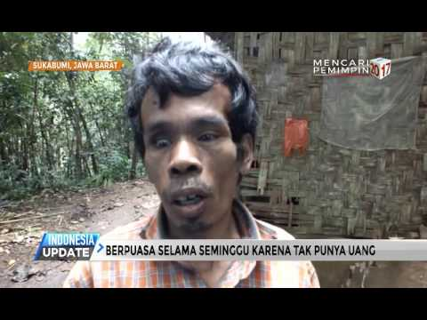 (Video) Tinggal Sebatang Kara, Warga Sukabumi Ini Sering Tidak Makan Sampai Seminggu