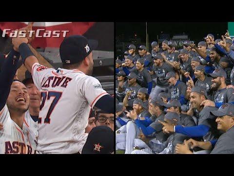 MLB.com FastCast: Dodgers, Astros set for World Series - 10/22/17