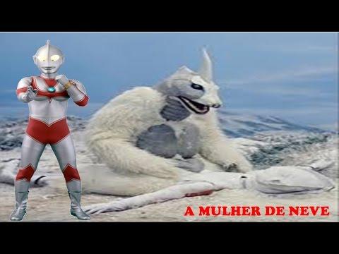 O REGRESSO DE ULTRAMAN 40*(A Mulher de Neve)DUBLADO