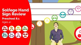 Solfege Hand Sign Review - Solfege Singing Preschool Learnin...