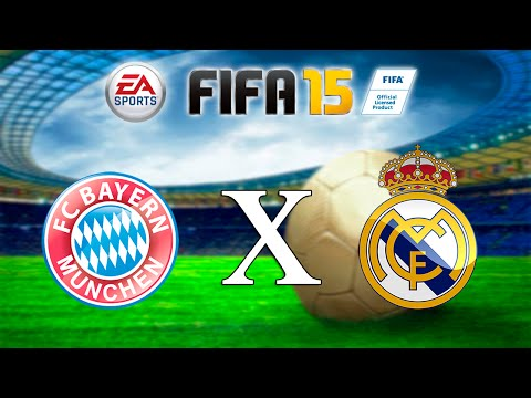 FIFA 15 - Bayern x Real Madrid
