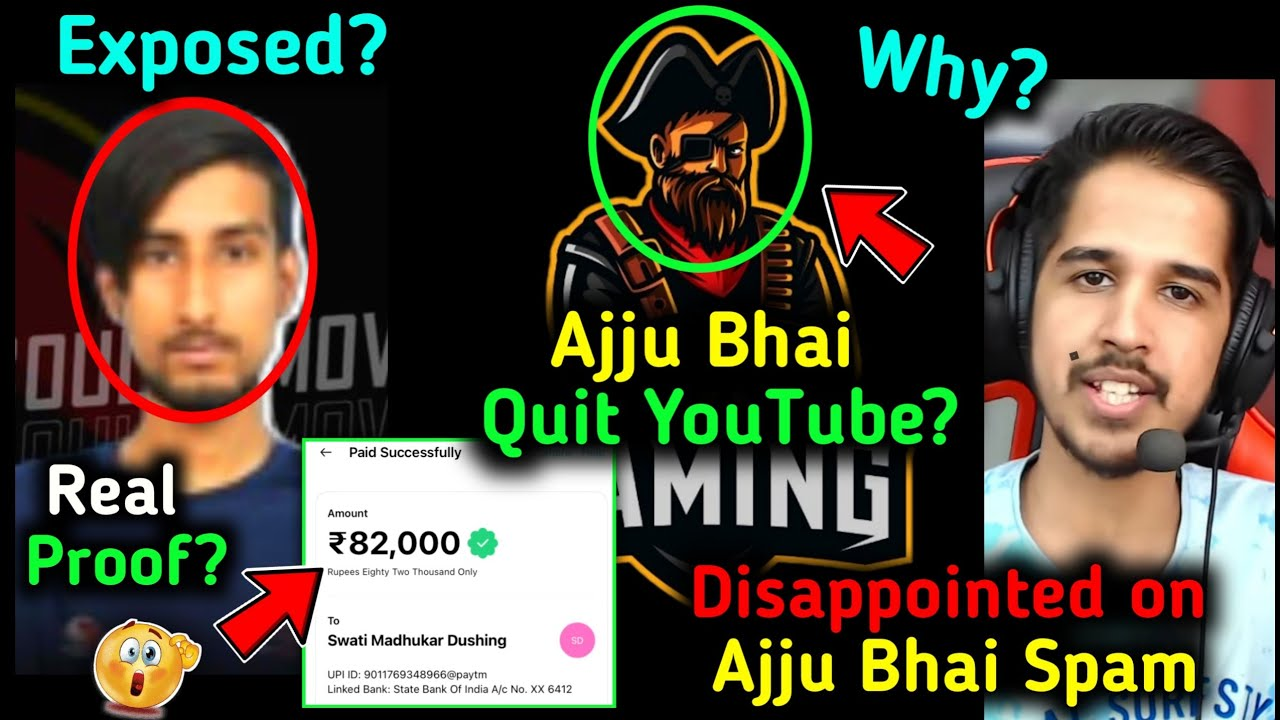 Total Gaming Quit Youtube ? 😱, Amitbhai Reply On Ajjubhai SPAM 😳 4Un Deadsoul Final Reply & PROOF?🤔