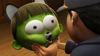Funny Animated Cartoon | Spookiz | Caught in The Act | 스푸키즈  | Cartoons For Children | Kids Movies
