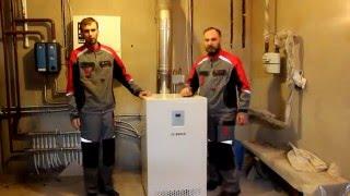 Обзор напольного газового котла Bosch GAZ 2500F