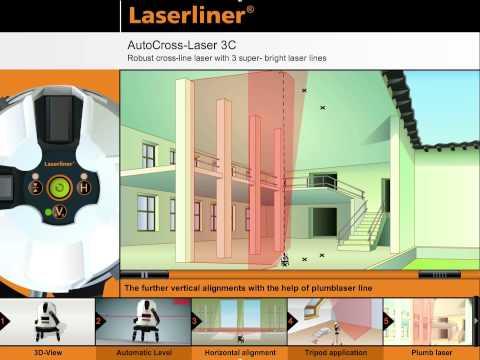 Лазерен нивелир LASERLINER AutoCross-Laser 3C #kKa9F4xfIg0