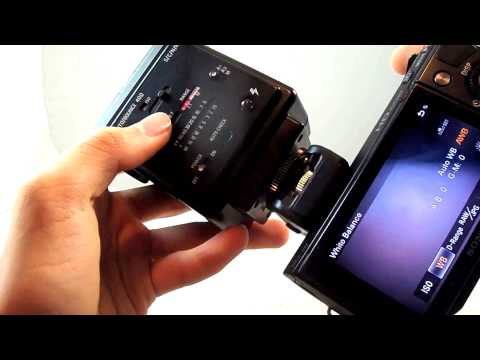 Weifeng NEX 3 5 C3 F3 5N 5R Proprietary to Hot Shoe Adapter Review