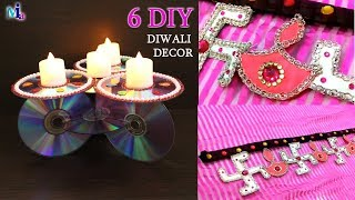 6 Diwali Decoration idea | Door Hanger Design | handmade diwali Decoration art and craft