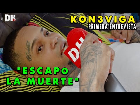 PRIMERA ENTREVISTA De KON3 VIGA Luego De ESCAPAR DE LA MUERTE!! MIRA ESTO!!