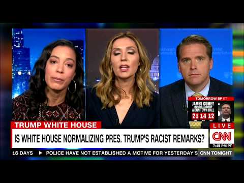 Angela Rye talks w/ Don Lemon about the White House normalizing Trump's racist commentary