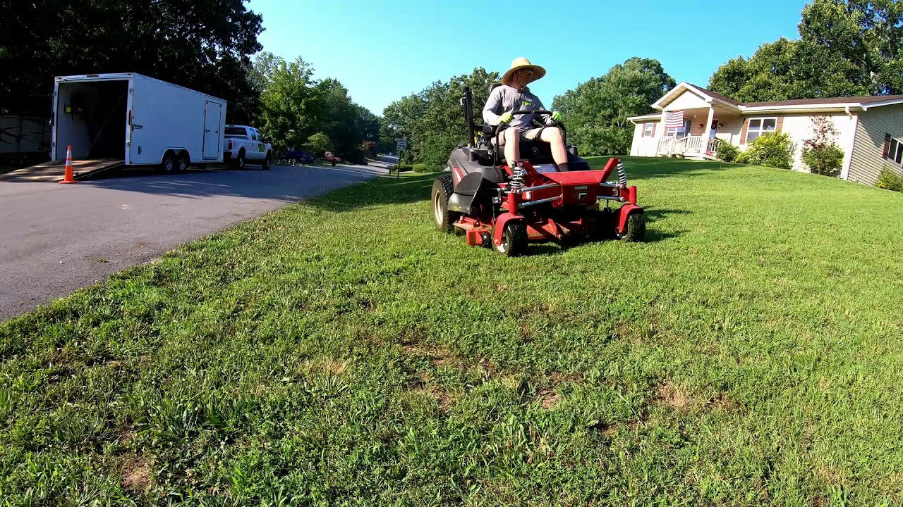 Mowing With The Ferris ISX 3300