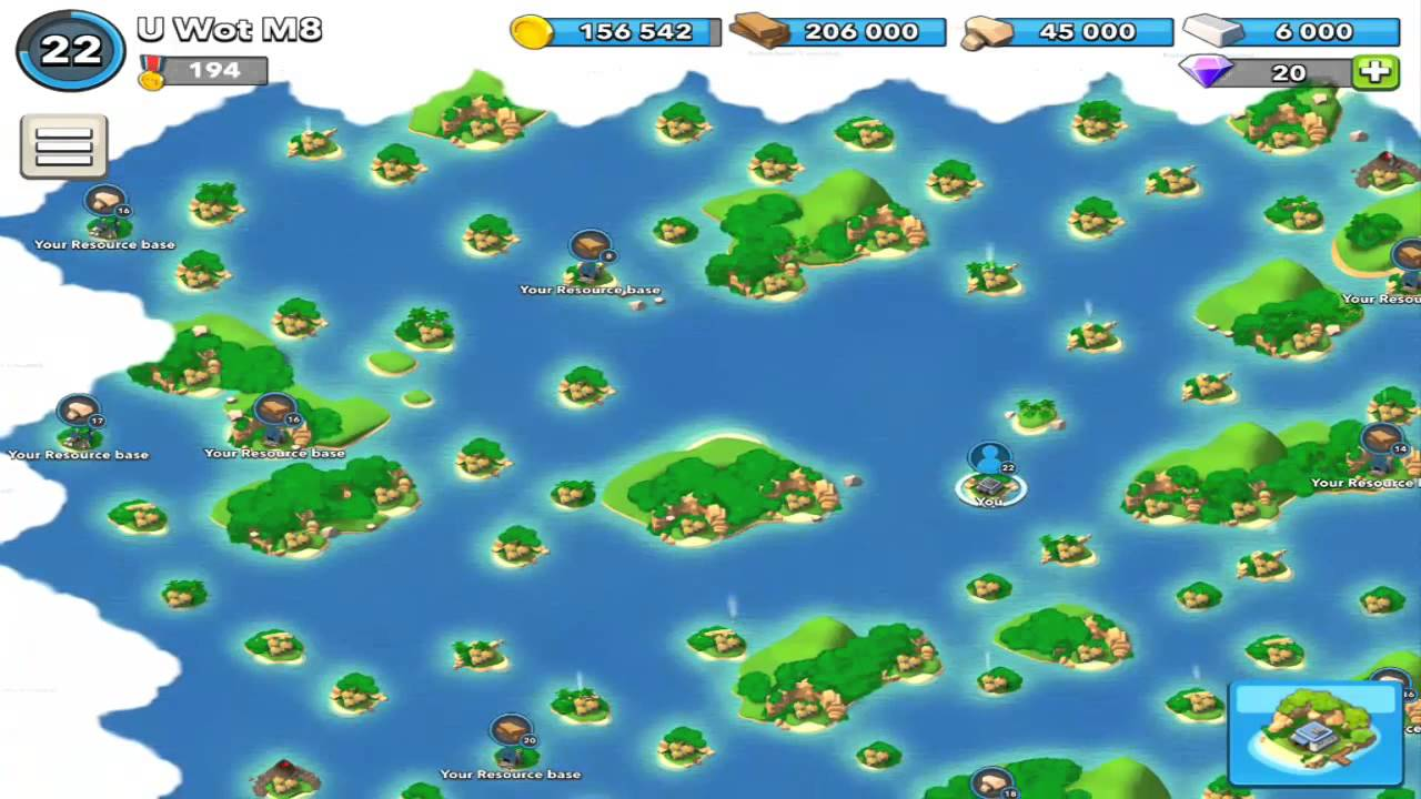 Boom Beach Map Boom Beach  Map resource base locations and more   YouTube Boom Beach Map