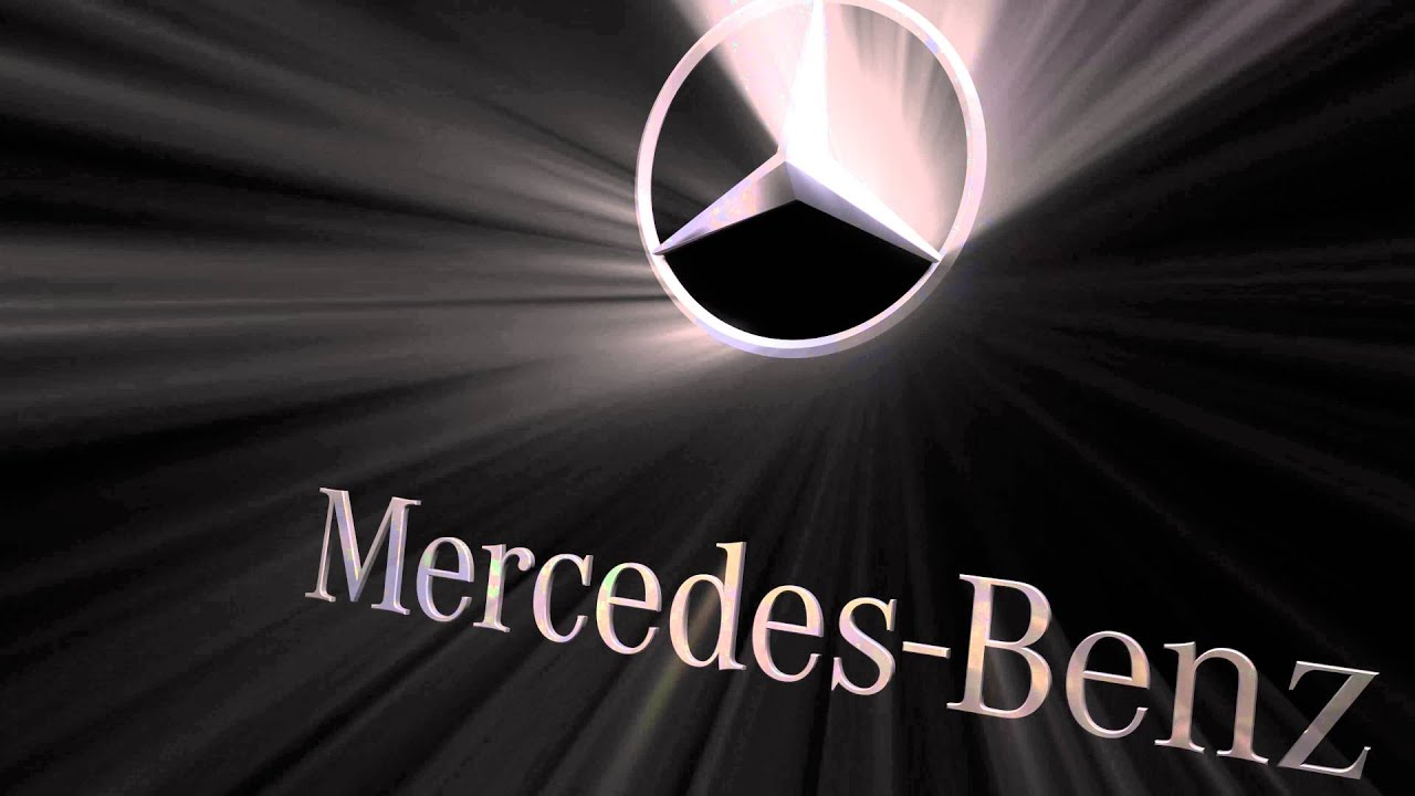 ultra hd 4k - mercedes benz logo - youtube
