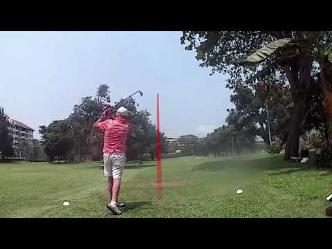 3rd Hole Dave Childs Tee Shot Asia Pattaya Golf Course Thailand