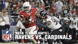 Ravens vs. Cardinals | Week 7 Highlights | NFL