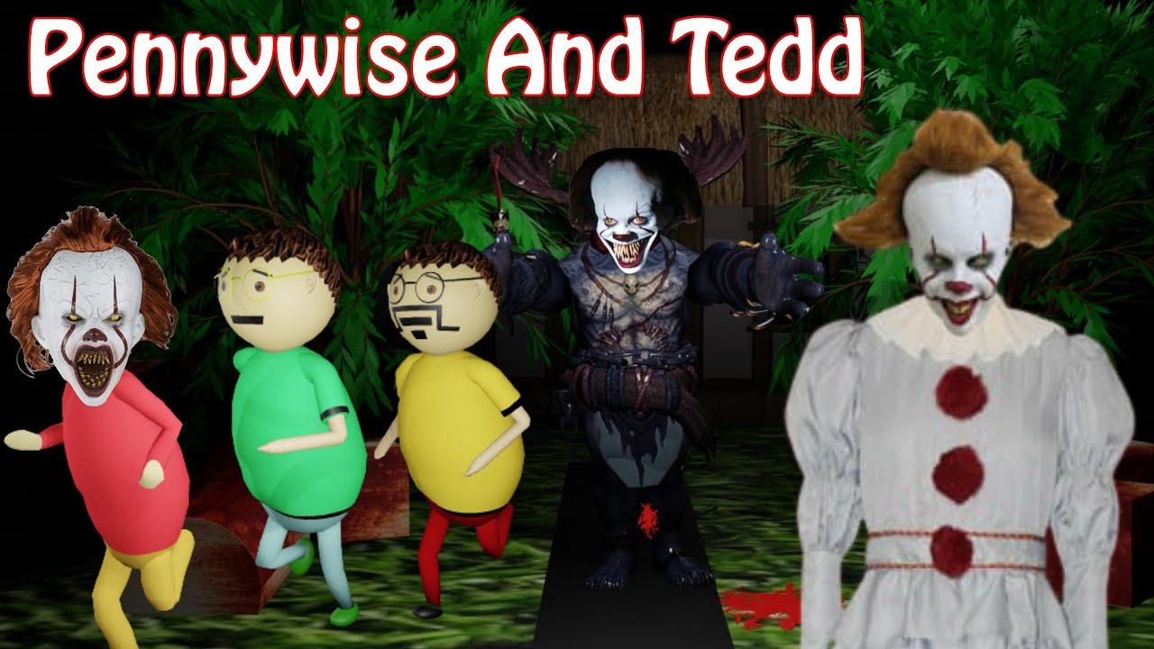 Download Tedd And Pennywise Horror Story Part 1 | Gulli Bulli Granny Ka Birthday Part 7 | Make Joke Horror