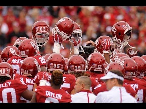 Oklahoma Sooners Football Pump Up 18