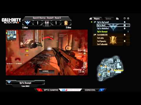 OpTic Gaming Vs Icons Evil - Game 2 - CWR1 - MLG Anaheim 2013