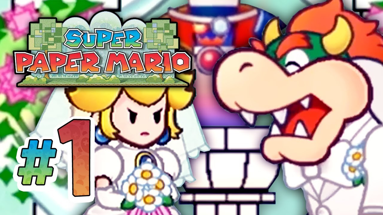 Super Mario Brothers: Paper Mario World Online Game