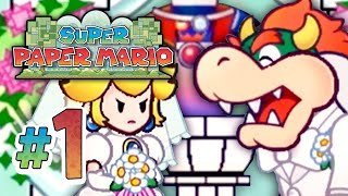 Super Paper Mario | Game Over - 1 (Wii Gameplay Walkthrough)