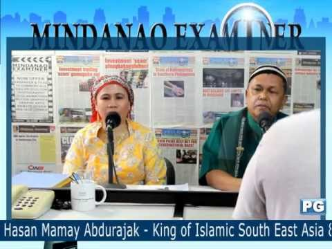 Mindanao Examiner Tele-Radyo Guests - Sultanate of Sulu and North Borneo Raja Mamay and Queen Helen