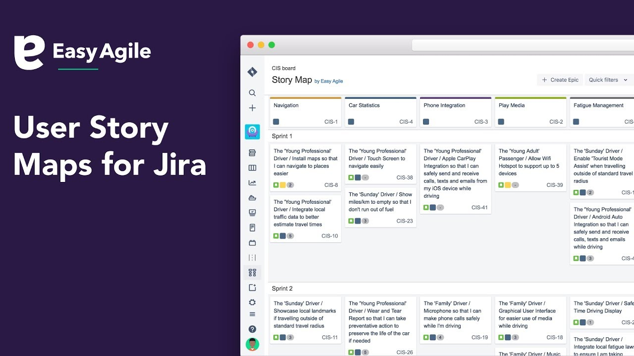 Easy Agile User Story Maps For Jira Youtube
