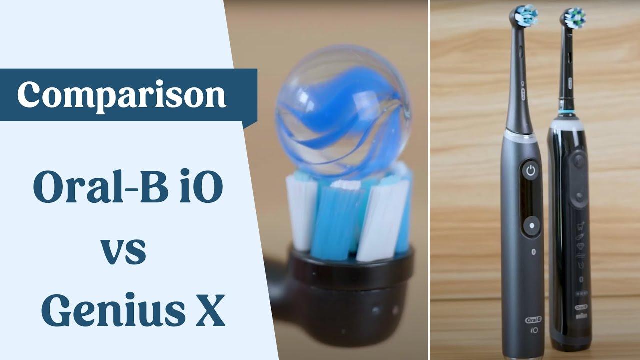 Oral-B iO vs Genius X