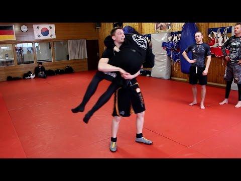 Grappling-Seminar Mit Eddi Pobivanez - Fight Academy Song Paderborn